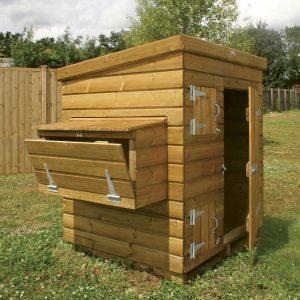 wooden chicken house