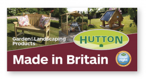 Hutton product display banner
