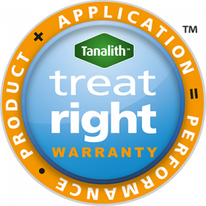 Treat-right warranty logo