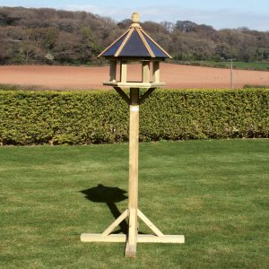 Wooden Windsor bird table