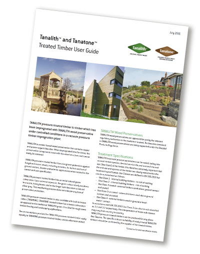 Treated Timber User Guide document